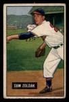 1951 Bowman #114  Sam Zoldak  Front Thumbnail