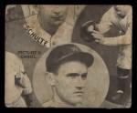 1935 Goudey 4-in-1  Al Spohrer / Flint Rhem / Ben Cantwell / Larry Benton  Back Thumbnail