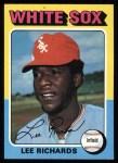1975 Topps #653  Lee Richard  Front Thumbnail