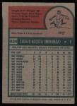 1975 Topps #634  Cy Acosta  Back Thumbnail