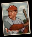 1950 Bowman #228 CR Bill Nicholson  Front Thumbnail