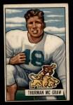 1951 Bowman #27  Thurman McGraw  Front Thumbnail