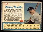 1962 Post #5 AD Mickey Mantle  Front Thumbnail