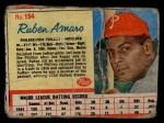 1962 Post Cereal #194  Ruben Amaro   Front Thumbnail