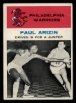 1961 Fleer #45   -  Paul Arizin In Action Front Thumbnail