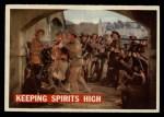 1956 Topps Davy Crockett Orange Back #63   Keeping Spirits High  Front Thumbnail