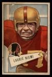 1952 Bowman Large #6  Laurie Niemi  Front Thumbnail