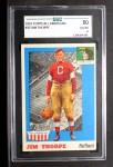 1955 Topps #37  Jim Thorpe  Front Thumbnail