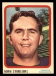 1963 Topps CFL #71  Norm Stoneburgh   Front Thumbnail