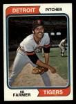 1974 Topps #506  Ed Farmer  Front Thumbnail