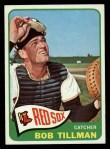 1965 Topps #222  Bob Tillman  Front Thumbnail