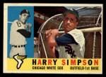 1960 Topps #180  Harry Simpson  Front Thumbnail