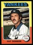 1975 Topps #44  Pat Dobson  Front Thumbnail