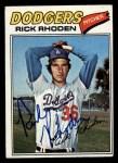 1977 Topps #245  Rick Rhoden  Front Thumbnail