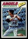 1977 Topps #68  Bruce Bochte  Front Thumbnail