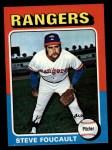 1975 Topps #283  Steve Foucault  Front Thumbnail