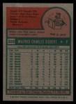 1975 Topps #328  Sonny Siebert  Back Thumbnail