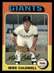 1975 Topps #347  Mike Caldwell  Front Thumbnail