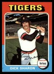 1975 Topps #293  Dick Sharon  Front Thumbnail