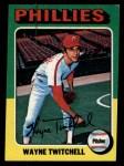 1975 Topps #326  Wayne Twitchell  Front Thumbnail