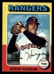 1975 Topps #362  Steve Hargan  Front Thumbnail