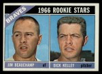 1966 Topps #84   -  Jim Beauchamp / Dick Kelley Braves Rookies Front Thumbnail