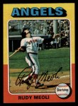 1975 Topps #533  Rudy Meoli  Front Thumbnail