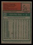 1975 Topps #565  Joe Torre  Back Thumbnail
