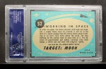 1957 Topps Target Moon #52   Working in Space Back Thumbnail