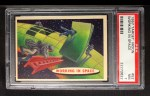 1957 Topps Target Moon #52   Working in Space Front Thumbnail