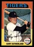 1975 Topps #522  Gary Sutherland  Front Thumbnail
