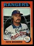 1975 Topps #542  Pete Broberg  Front Thumbnail