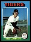 1975 Topps #571  Dave Lemanczyk  Front Thumbnail