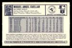 1973 Kellogg's #47  Mike Cuellar  Back Thumbnail