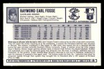 1973 Kellogg's #18  Ray Fosse  Back Thumbnail