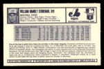 1973 Kellogg's #23  Bill Stoneman  Back Thumbnail