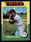1975 Topps #526  Larry Hisle  Front Thumbnail