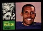 1962 Topps #79  Ollie Matson  Front Thumbnail
