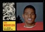 1962 Topps #161  Abe Woodson  Front Thumbnail