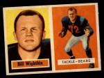 1957 Topps #130  Bill Wightkin  Front Thumbnail