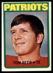 1972 Topps #203  Tom Beer  Front Thumbnail