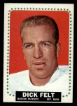 1964 Topps #9  Dick Felt  Front Thumbnail