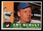 1960 Topps #93  Art Schult  Front Thumbnail