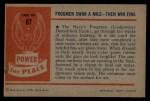 1954 Bowman Power for Peace #87   Frogmen Back Thumbnail