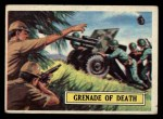 1965 Topps Battle #4   Grenade of Death  Front Thumbnail