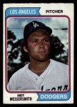 1974 Topps #267  Andy Messersmith  Front Thumbnail