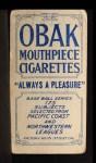 1910 T212 Obak OLD Fred Annis  Back Thumbnail