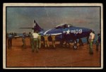 1954 Bowman Power for Peace #92   Carrier Strike Front Thumbnail