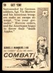 1964 Donruss Combat #59   Get 'Em! Back Thumbnail