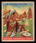 1933 Goudey Indian Gum #114  In Consultation   Front Thumbnail